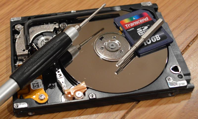 Ανάκτηση δεδομένων από κατεστραμμένο δίσκο